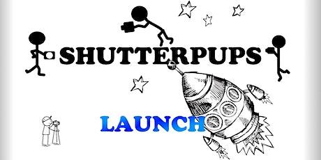 Shutterpups Launch tickets