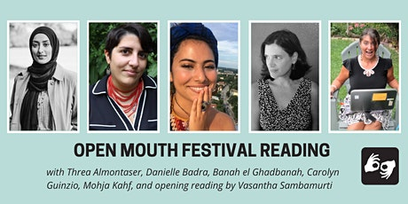 Open Mouth Poetry Festival--Reading on 10/29 tickets