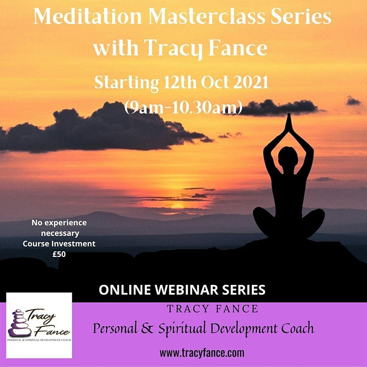 Meditation Masterclass with Tracy Fance image