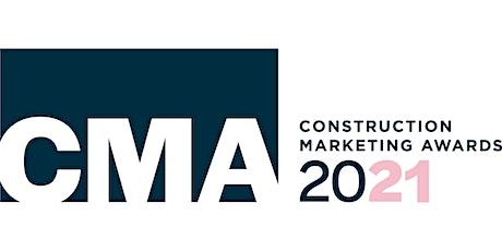 Construction Marketing Awards Gala Dinner 2021 tickets