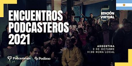 Encuentro Podcastero 2021 | Perú entradas