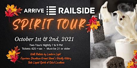 Railside Spirit Tour tickets