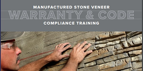 Manufactured Stone Warranty and  Code Compliance Training- 1hour AIA HSW tickets