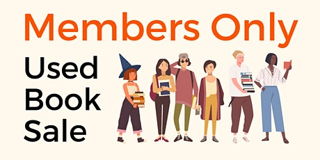 Members Only Used Book Sale tickets