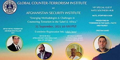 Emerging Methodologies & Challenges in CT in the Sahel & Africa tickets