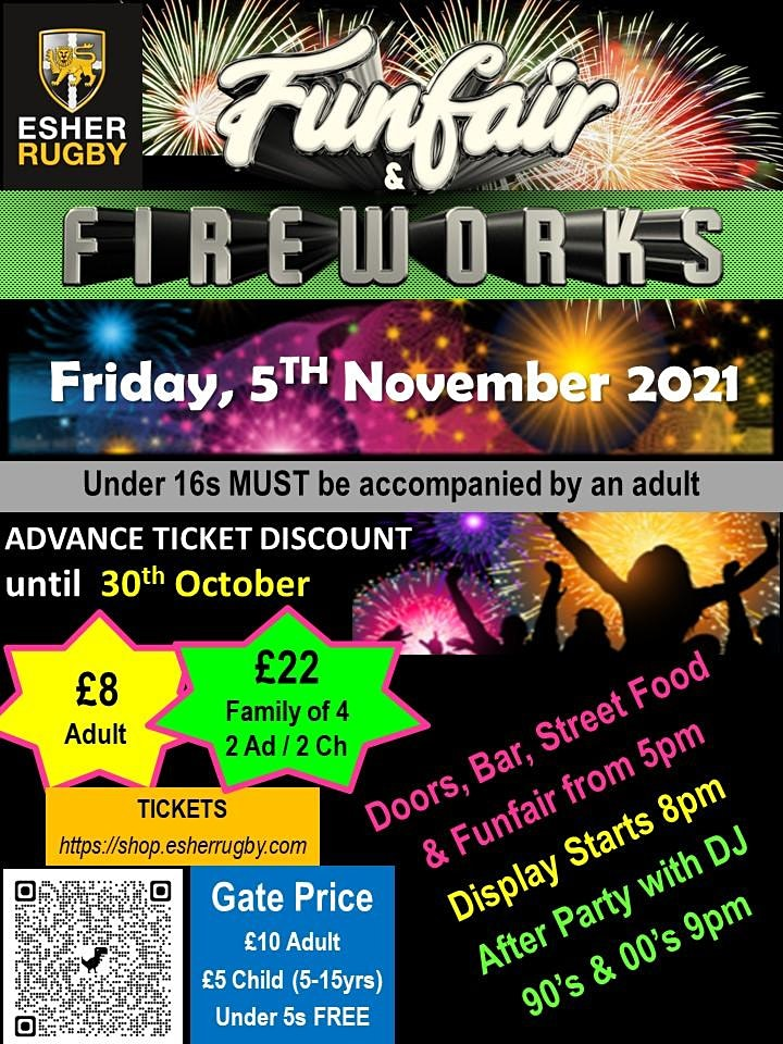 Fireworks Night 5th November 2021 image