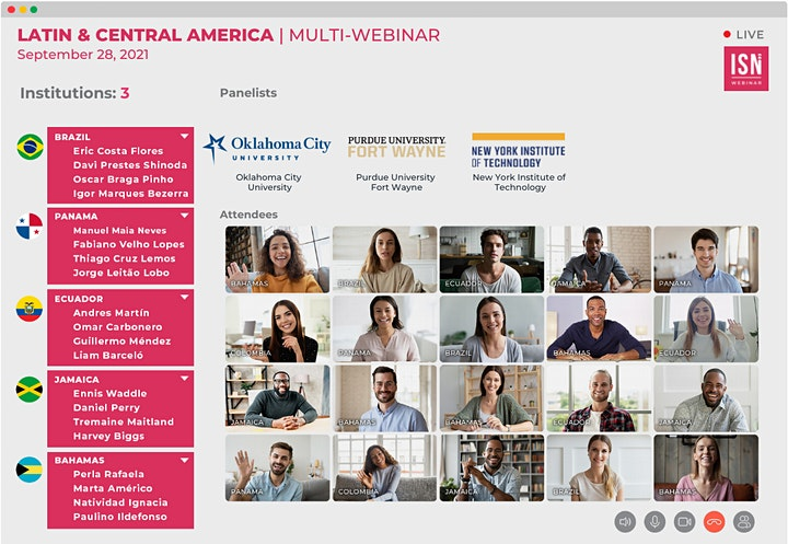 Study in the USA Webinar for Latin & Central America image