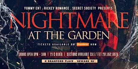 Nightmare At The Garden tickets