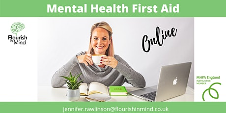 Mental Health First Aid Online- MHFA England tickets