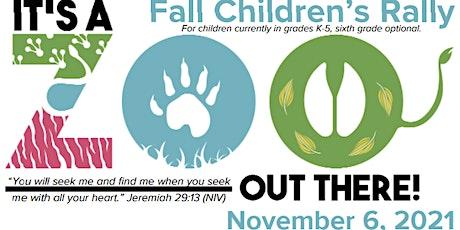 Fall Children's Rally tickets