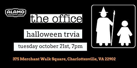 Office Halloween Episode Trivia at  Alamo Drafthouse Cinema Charlottesville tickets