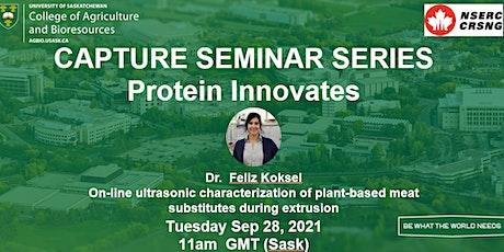 CAPTURE Seminar Series: Protein Innovates #8 tickets
