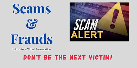 Scams and Frauds Presentation tickets