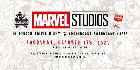 Marvel Studios In-Person/Streamed Trivia Night! tickets