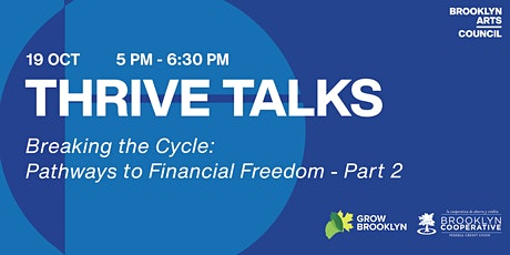 Thrive Talks Webinar: Breaking the Cycle: Part 2 tickets