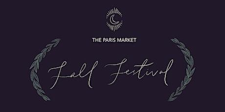 The Paris Market Annual Fall Festival tickets