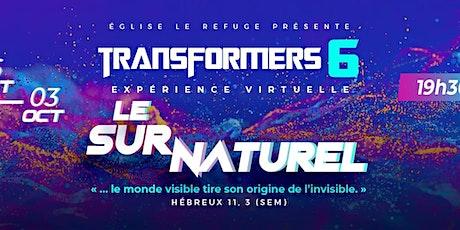 Transformers Mardi 28 septembre tickets
