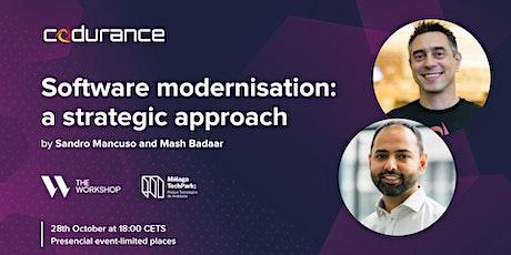 Software Modernisation: A Strategic Approach tickets