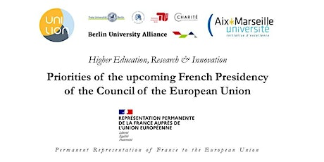Priorities of the upcoming French Presidency  of the Council of the EU tickets