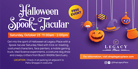 Legacy Place Halloween Spooktacular tickets