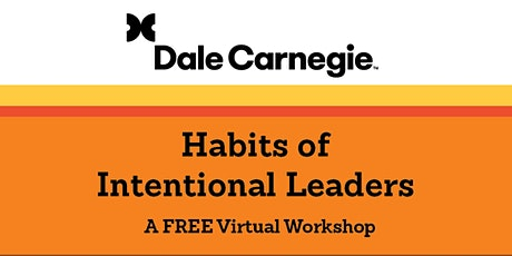 Habits of Intentional Leaders tickets