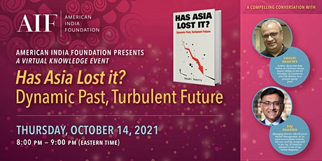 """AIF Knowledge Event """"Has Asia Lost it?"""" tickets"""