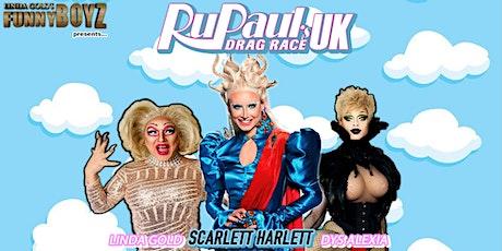 FUNNYBOYZ LIVERPOOL presents... SCARLETT HARLETT from RUPAUL'S DRAG RACE UK tickets