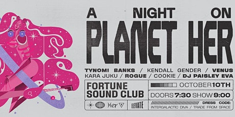 A Night on Planet Her tickets