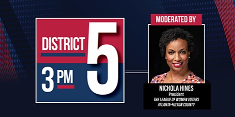 City of Atlanta City Council District 5 Candidate Forum 2021 tickets
