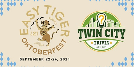 EAST: Oktoberfest Trivia With Twin Cities Trivia tickets