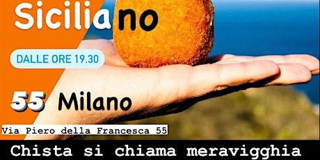 Aperitivo Siciliano | 55 Milano biglietti