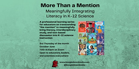 More Than a Mention: Meaningfully Integrating Literacy in K-12 Science tickets