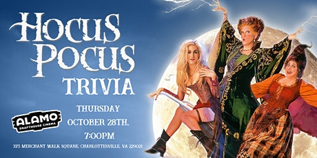 Hocus Pocus Trivia at Alamo Drafthouse Cinema Charlottesville tickets