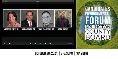 Environmental Forum for County Board Candidates tickets