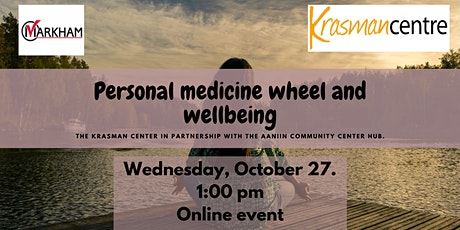Personal medicine wheel and wellbeing tickets