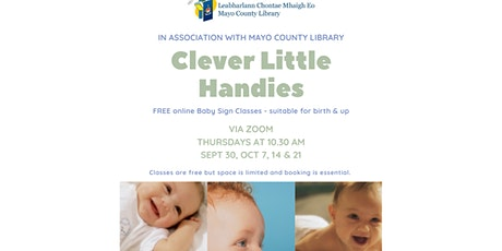 Clever Little Handies - Sign Language for Babies & Toddlers tickets