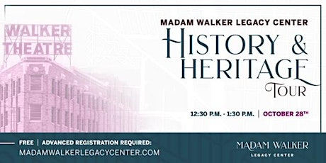 MWLC History & Heritage Tour tickets