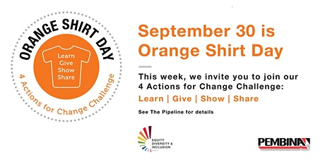 Orange Shirt Day: Virtual Viewing Event tickets