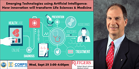 Emerging Technologies using AI in Life Sciences & Medicine tickets