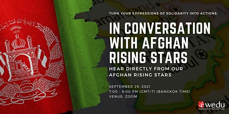 In Conversation with Afghan Rising Stars tickets