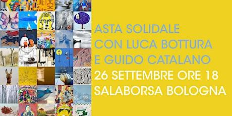 """Asta solidale con Guido Catalano e Luca Bottura """"Artisti per Casa Gialla"""" biglietti"""