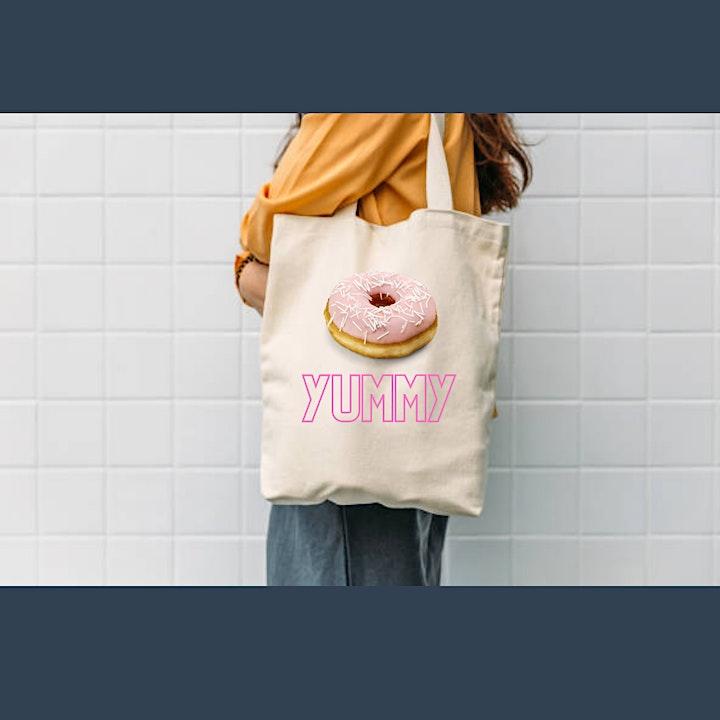 Canvas Bag Making Cricut Craft Workshop (Live over Zoom) - Joy Machine image
