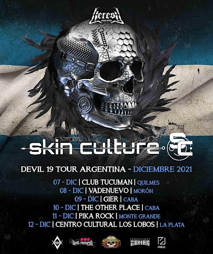 Imagen de Skin Culture (Brasil) - DEVIL 19 TOUR - PIKA ROCK