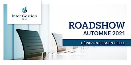 ROAD SHOW LIMOGE L'EPARGNE ESSENTIELLE billets