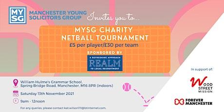 MYSG CHARITY NETBALL TOURNAMENT tickets