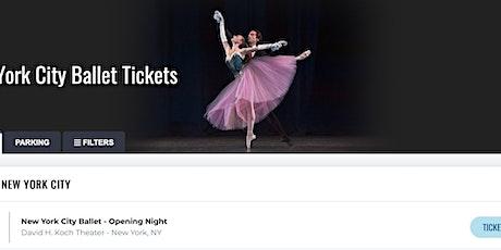 New York City Ballet Opening Night tickets