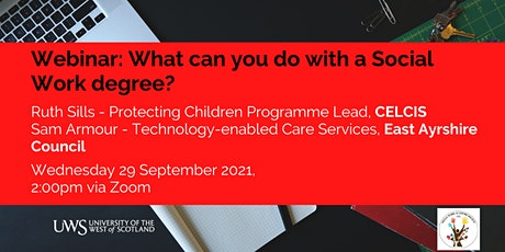 What can you do with a social work degree? tickets