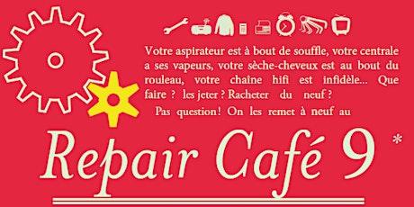 Repair café 9 - Samedi 25 septembre billets