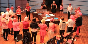 Newcastle Conservatorium Breast Cancer 'Choir of Hard...