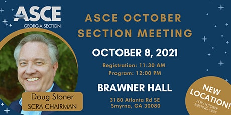 ASCE Georgia October Section Meeting (In-Person Attendee) tickets